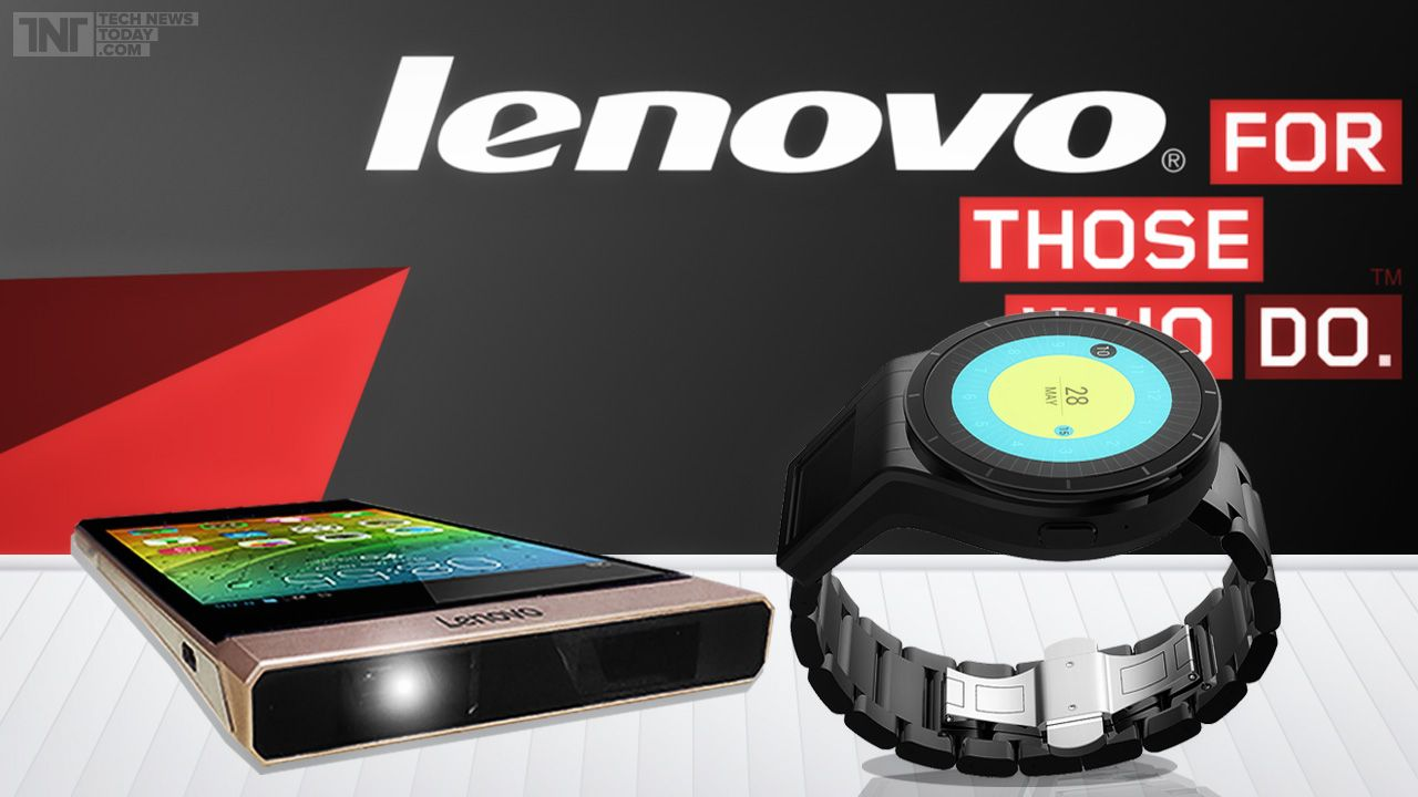 dual screen smartwatch projector smartphone latest by lenovo