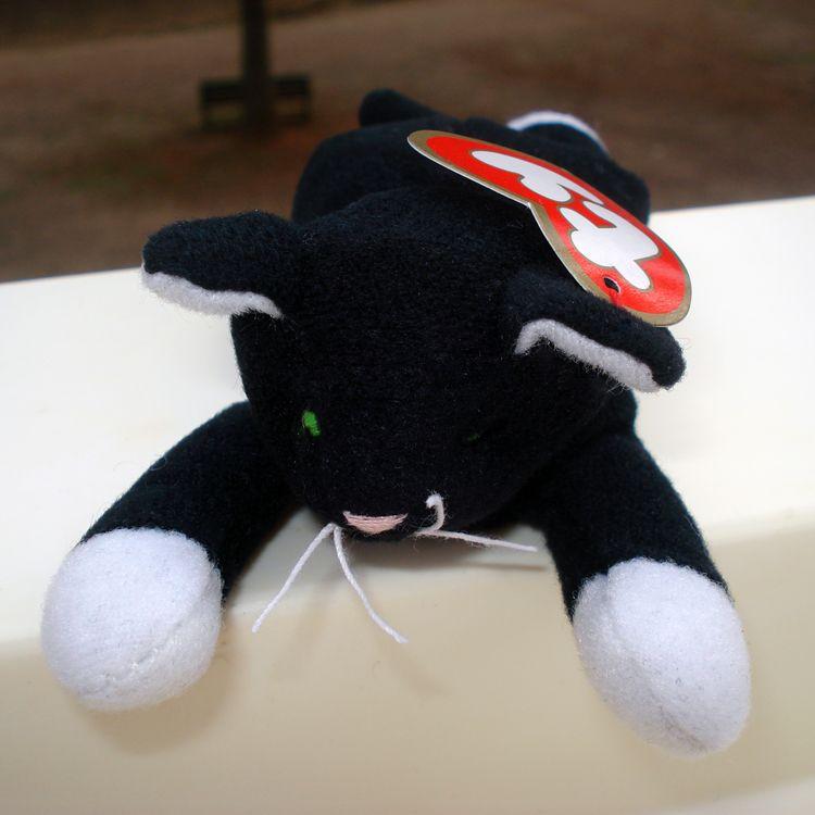 1998 McDonald s Teenie Beanie Baby  10 Zip the Cat (Sealed)  8b24a640f61d