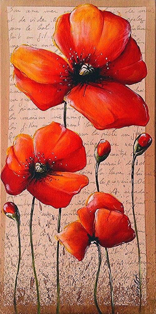 Pin Von Monijansen Auf Steine Bemalen In 2020 Kunstmalerei Blumen Blumen Malen Acryl Blumen Malen