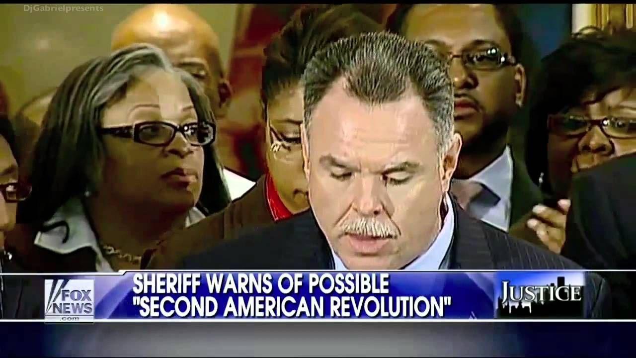 Sheriff Warns of Second American Revolution over Gun Control