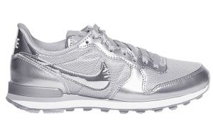 trainers silver, £70, by Nike, from stories.com.