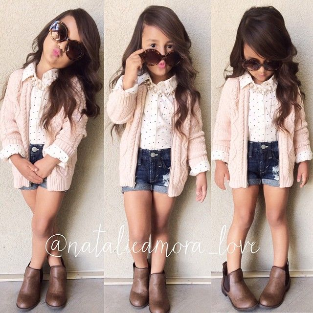 This little girl wears really cute outfits...but some of her poses are inappropriate & risqué. Children posing in adult or sexy poses puts them at risk for predators seeking them out. Parents should be risk aware & prevention-focused for the safety of their children..Love it so cute -...