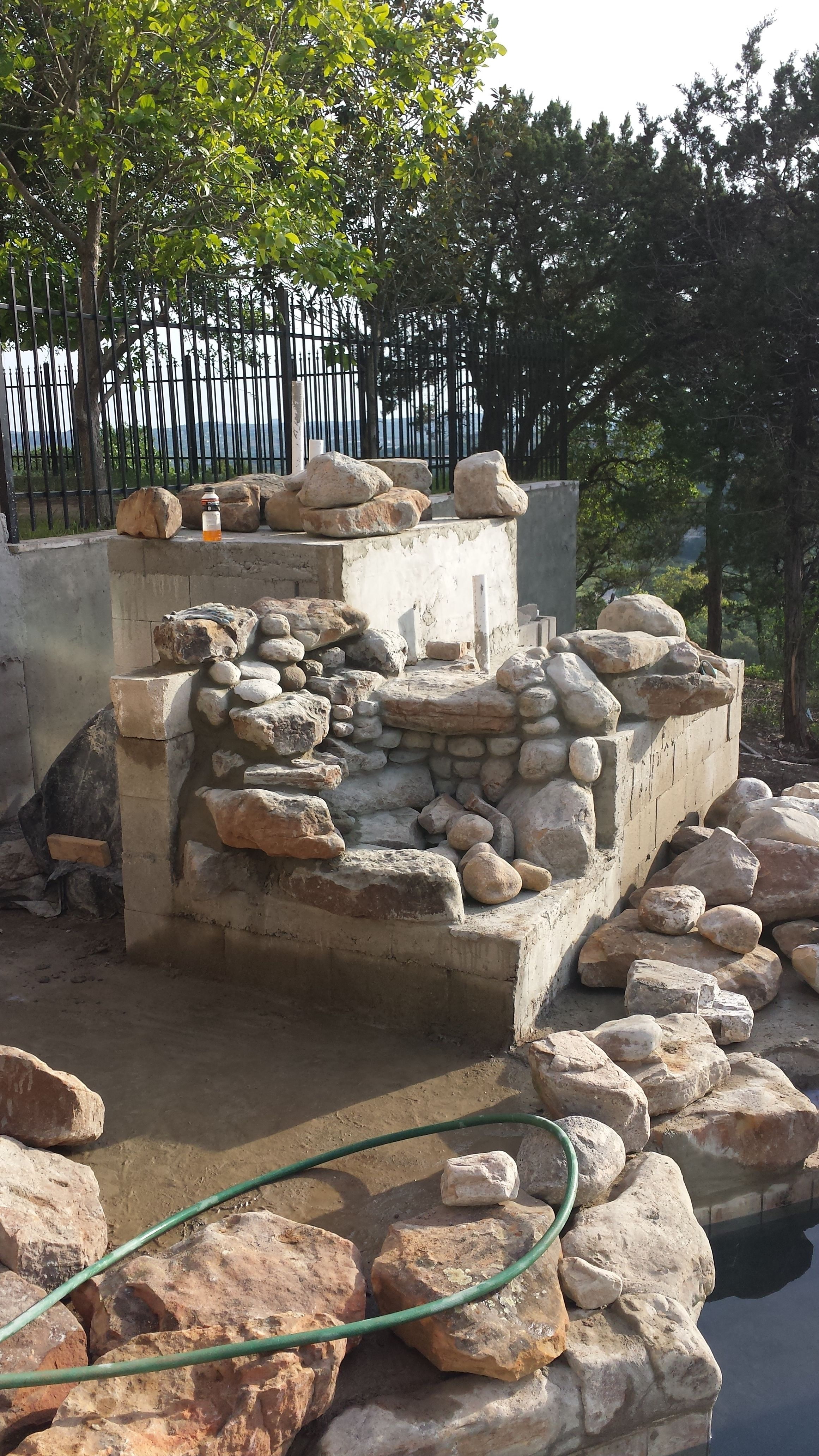 Garden Ponds With Waterfalls Diy Water Fountains