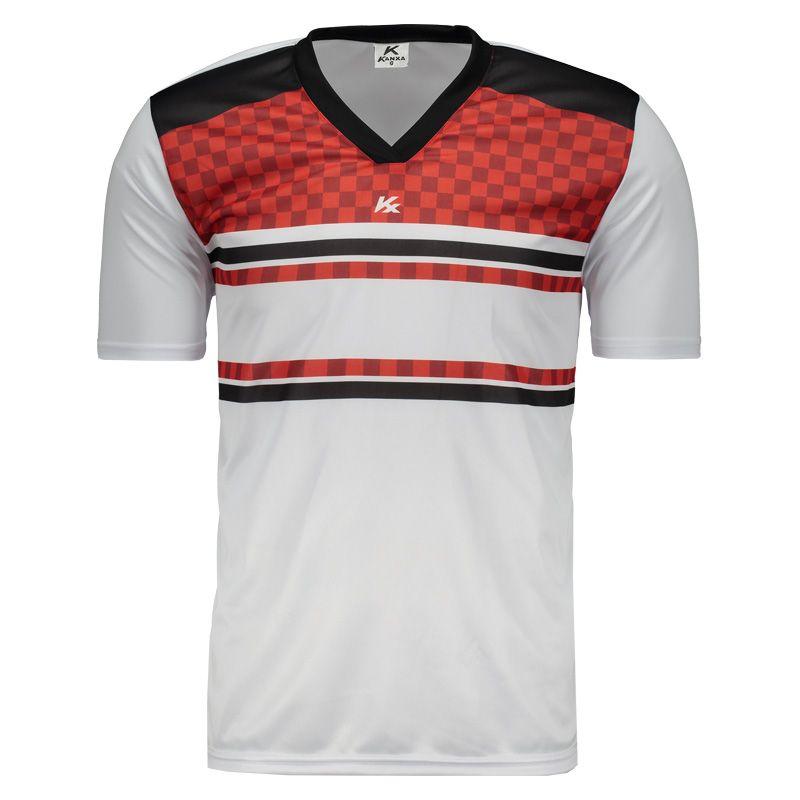 dabda56062 Camisa Kanxa Pop Veti Branca e Vermelha Somente na FutFanatics você compra  agora Camisa Kanxa Pop