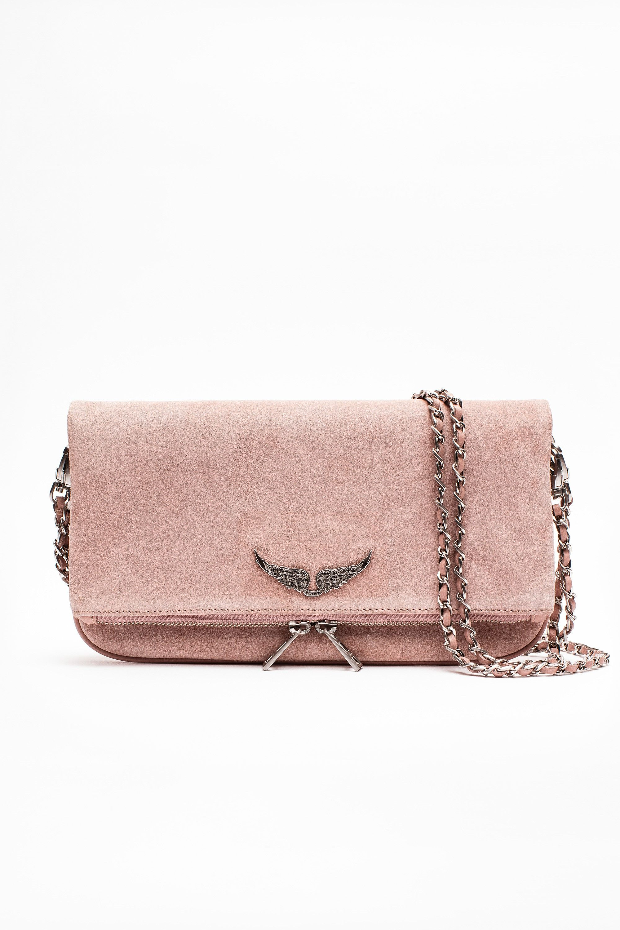 a1d2808470d Bolso Rock Suede mujer Zadig   Voltaire