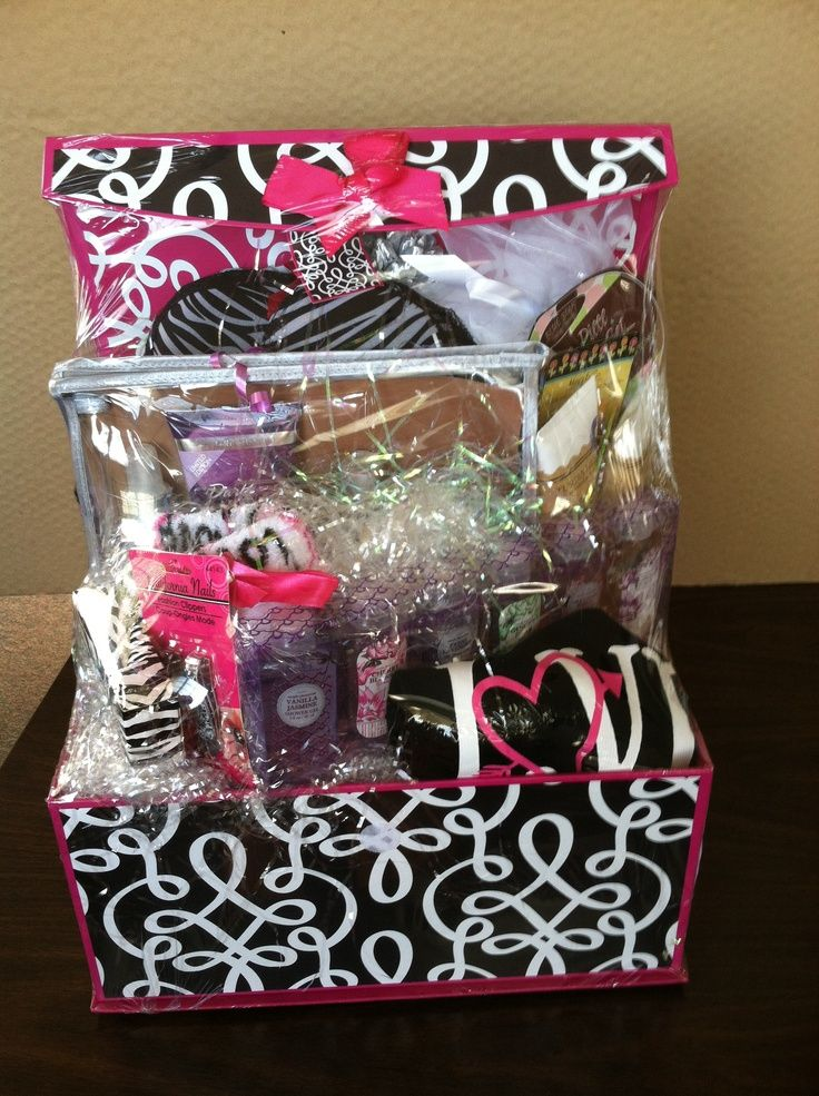 DIY BEAUTY Gift BASKET These are a lot of fun to make