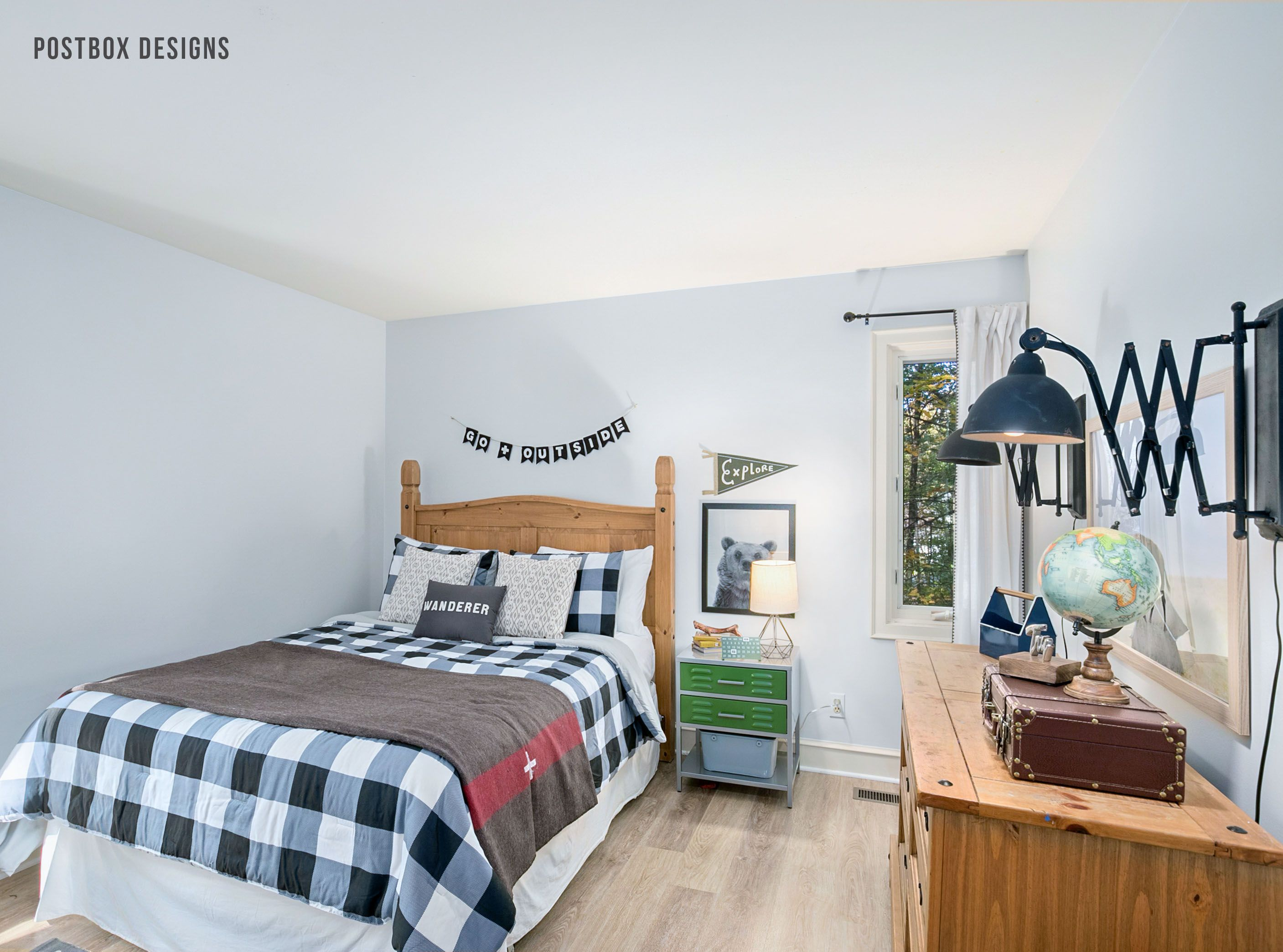 Outdoor Adventure Themed Room Themed Kids Room Camping Theme Room Adventure Room