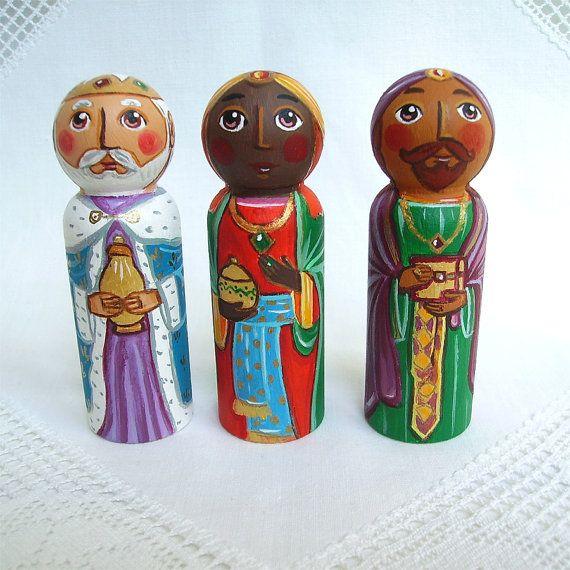 Three Kings Wise Men Magi Christmas nativity by UnderAngelWings