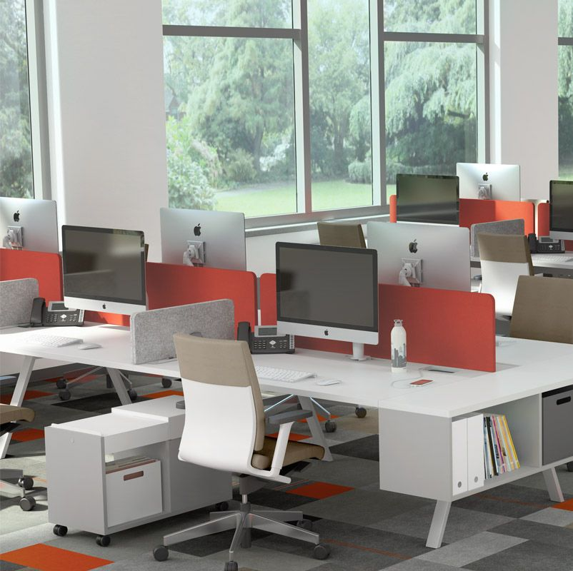 Simple And Clean In Design Tonic Is Built With The Quality That Is Distinctively Watson Corporate Office Design Modular Office Furniture Furniture