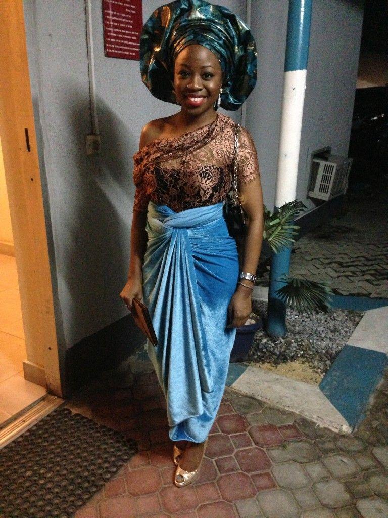 Traditional nigerian wedding dresses  Iro and buba nigerianwedding  African print outfits  Pinterest