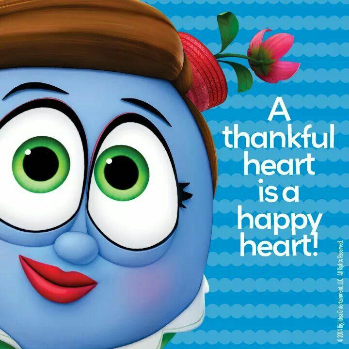 Thankful heart = Happy heart