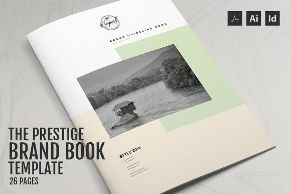 The Prestige - Brand Manual Template Brand manual, Brochures and - it manual template