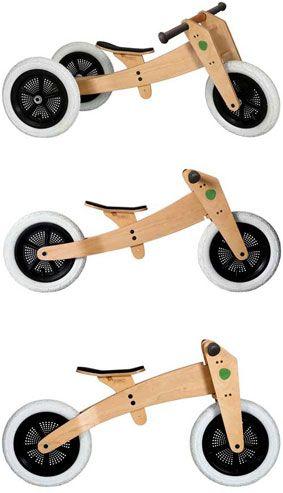 Wishbone Balance Bike - 3 Bikes in 1
