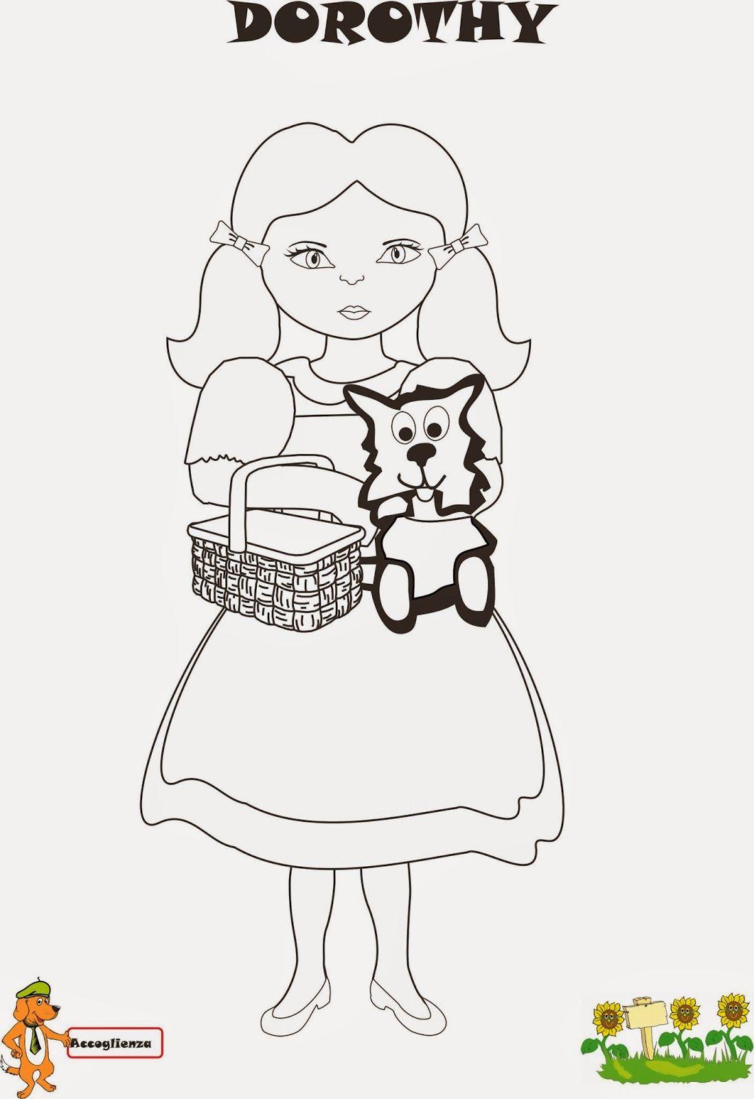 Disegni Da Colorare Per Bambini Mago Di Oz.Prima Tappa Dorothy Ed Il Magico Mondo Di Oz Mago Di Oz