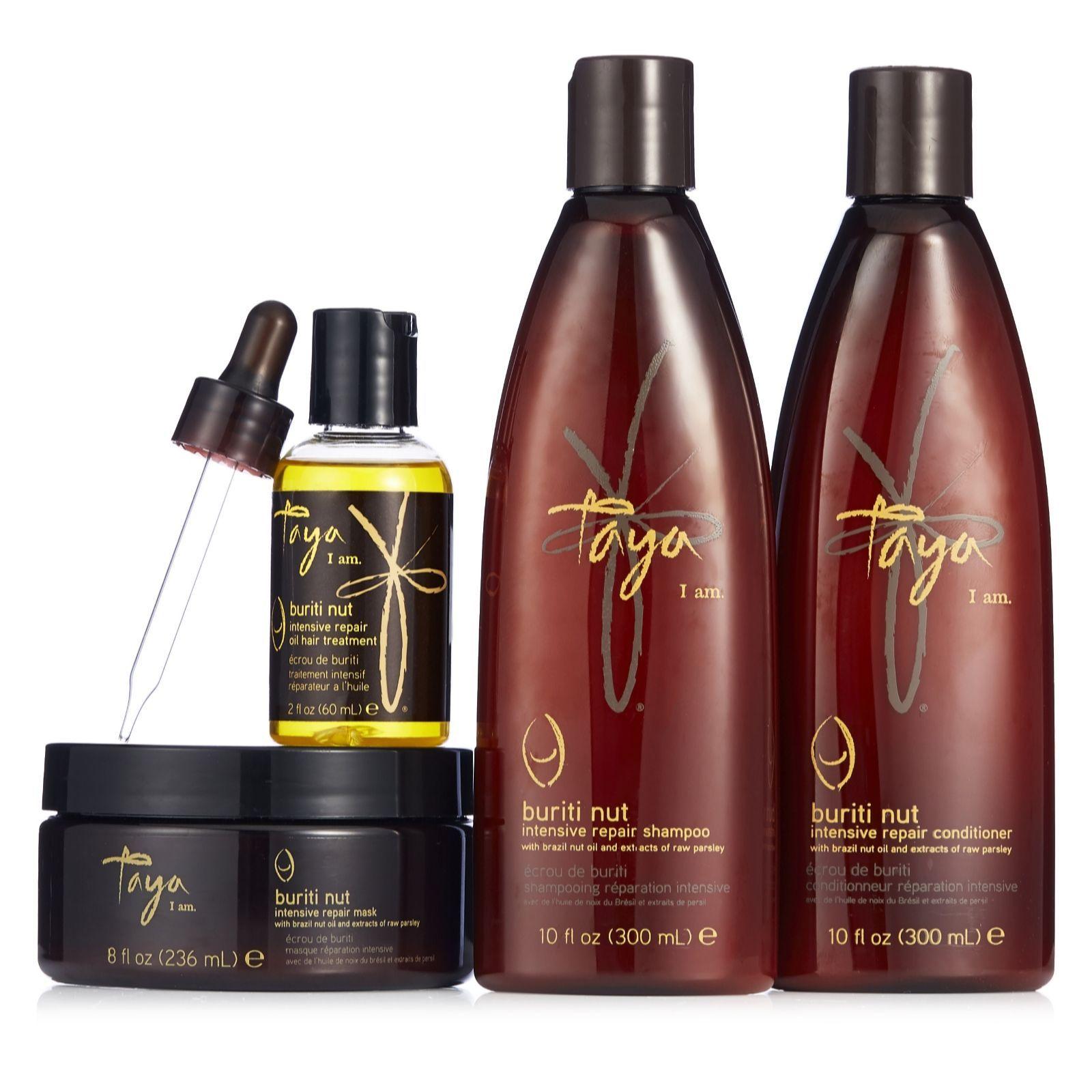 216285 Taya 4 Piece Buriti Nut Intensive Repair Hair