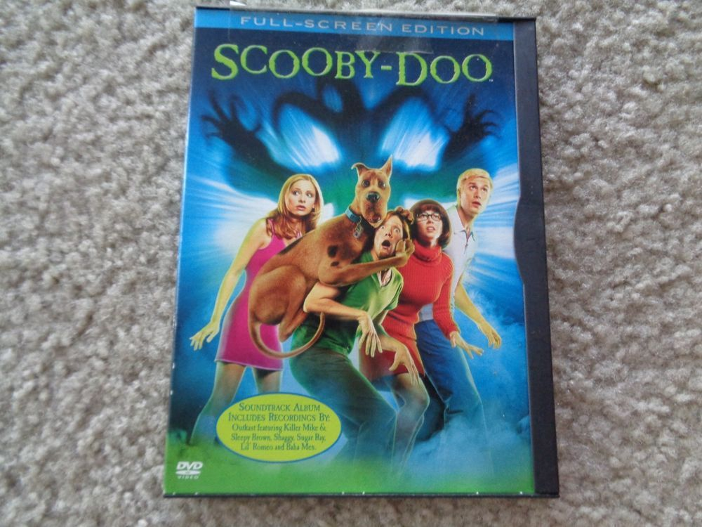Scooby Doo Full Screen Edition Dvd Scooby Scooby Doo Dvd