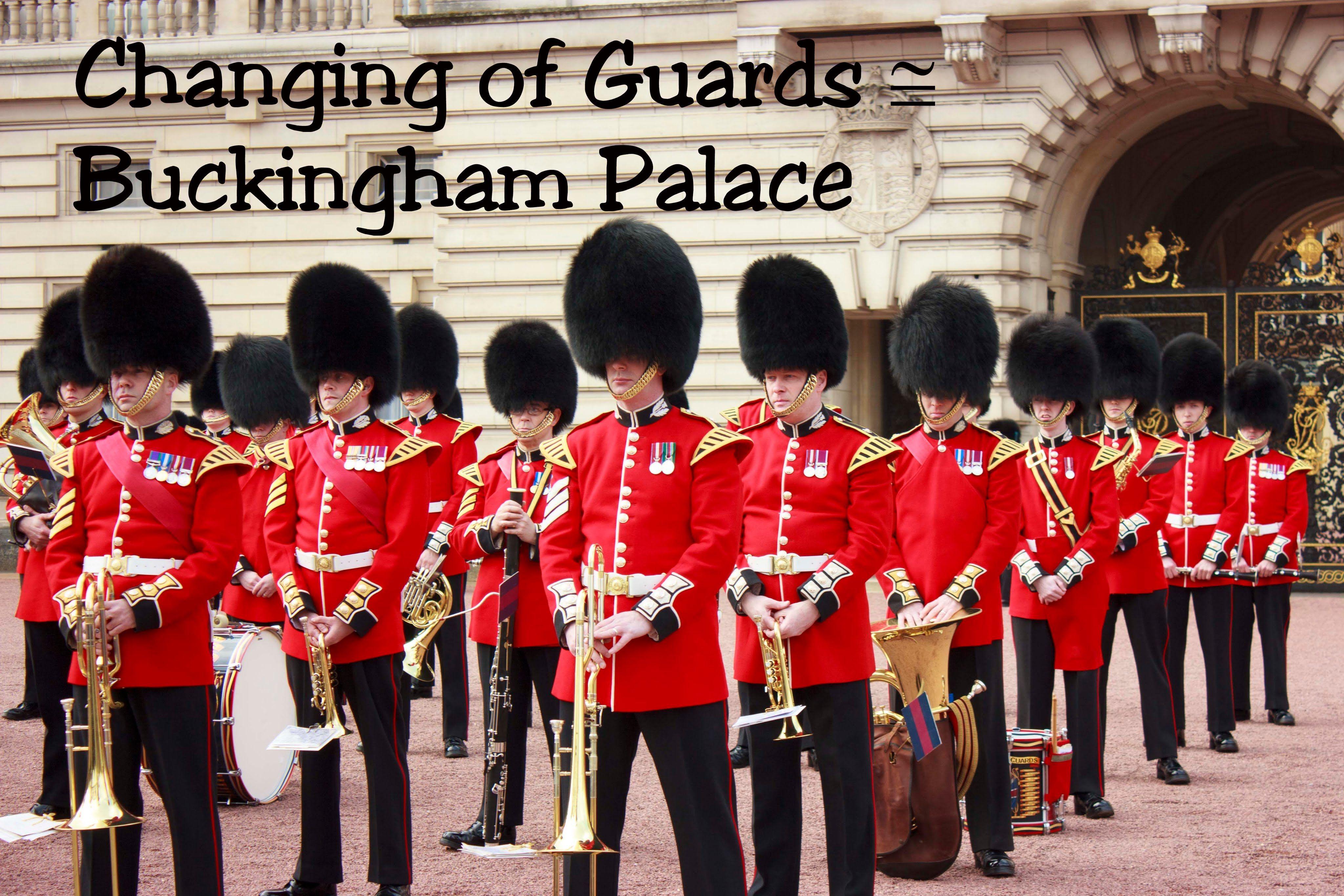 Changing Guard Buckingham Palace London Uk 2016 Youtube Buckingham Palace London Uk Buckingham