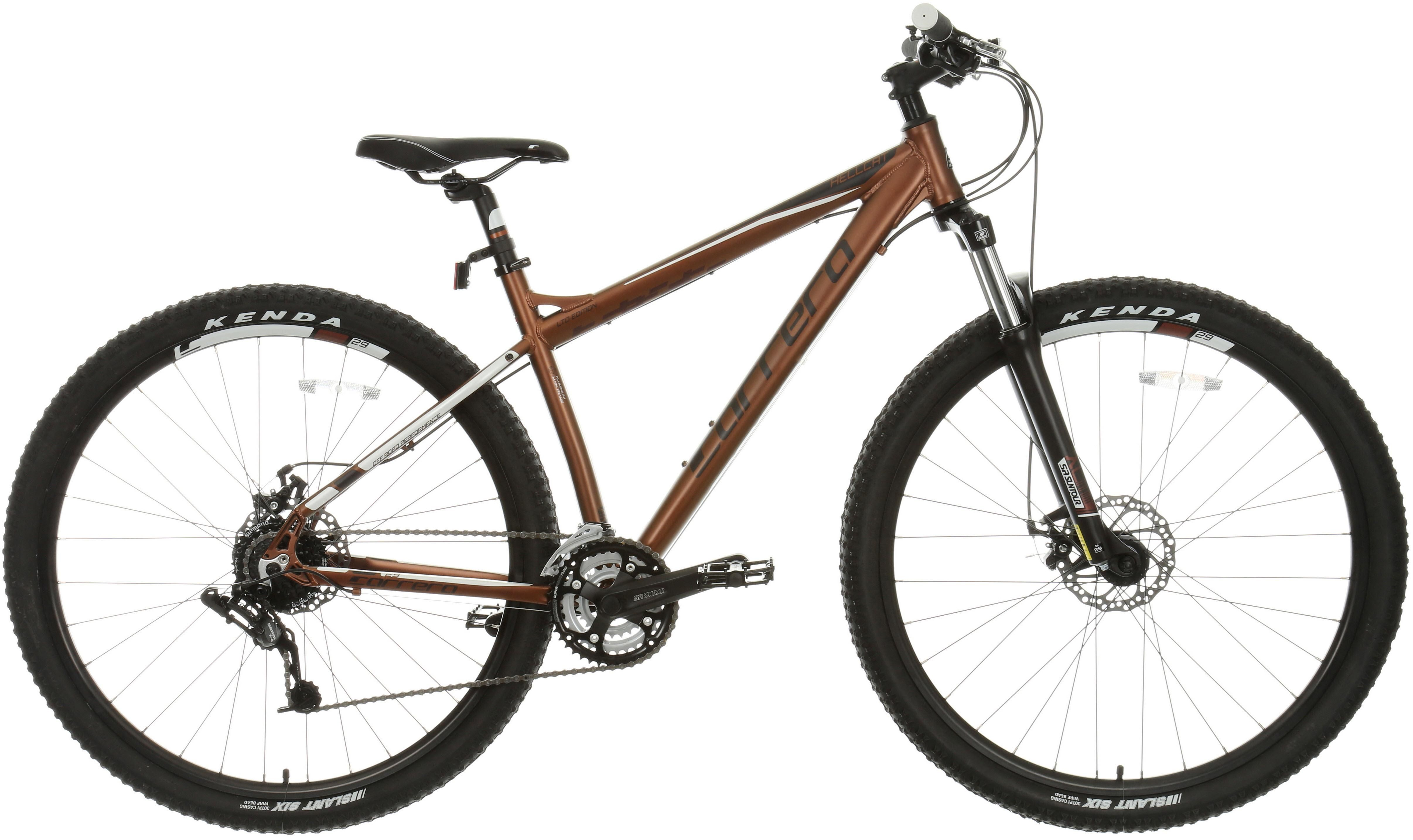 Carrera Hellcat Womens Mountain Bike - 16 inch, Bronze | Bicycle ...