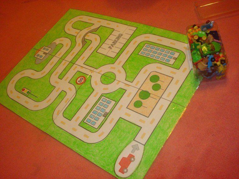 juego simbólico: coches | Машинки+ | pinterest | niños con autismo