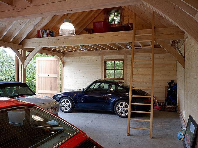 Pin Van Maggo Op Aanbouw Garagehuis Garage Ontwerp Schuur Garage