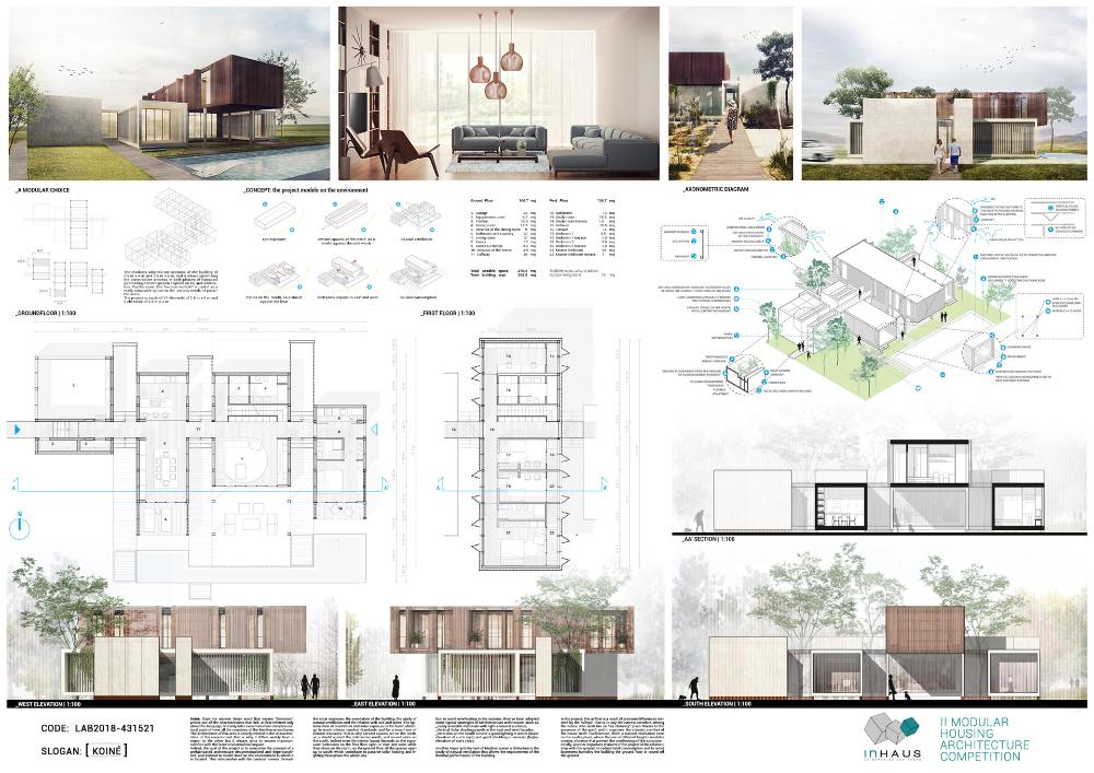 "II Concurso ""inHAUS LAB Diseña tu casa modular"" Casas"