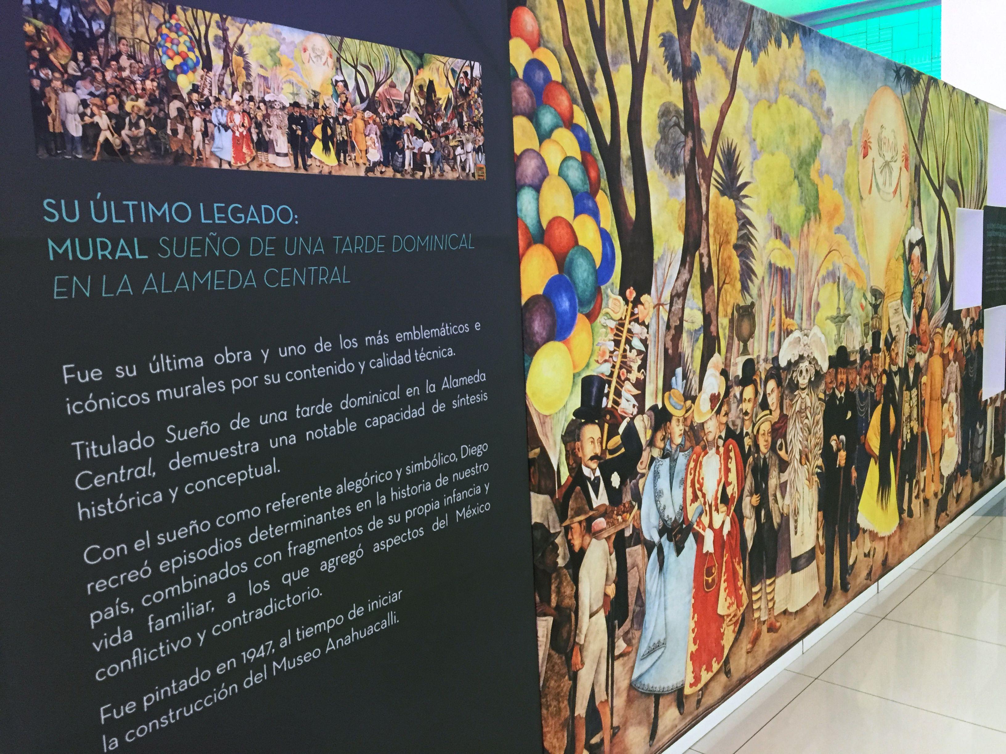 Diego Rivera Extramuros en Galerías Serdán