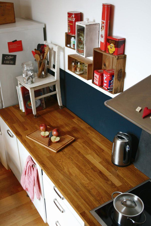 Arbeitsplatte Küchen retro, Arbeitsplatte und Einrichtungsideen - einrichtungsideen raeume wohnung interieur bilder