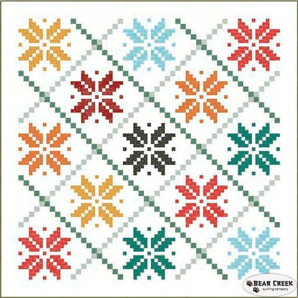 Norwegian Holiday Free Quilt Pattern by Hoffman Fabrics | Quilting ... : hoffman free quilt patterns - Adamdwight.com