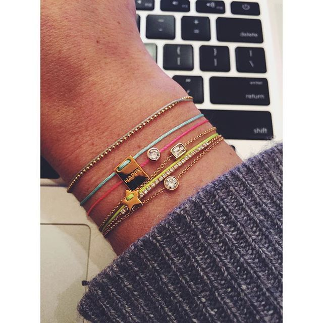 Colorful #imaginjewels new collection #bracelets