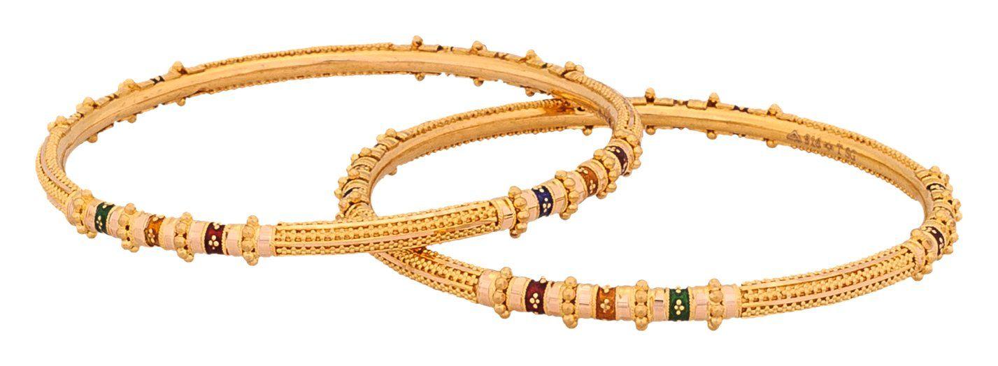 Senco Gold 22k Yellow Gold Bangle | Jewelry | Pinterest | Gold ...