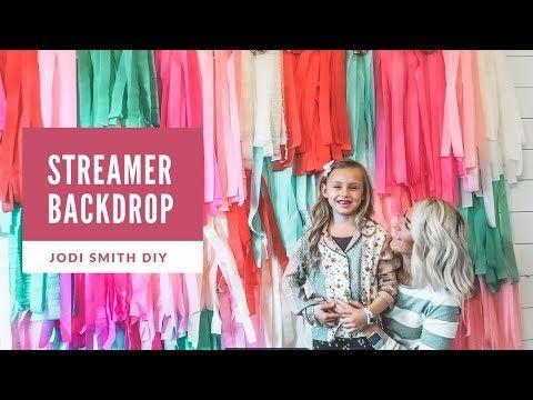 DIY Streamer Backdrop Tutorial