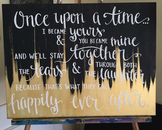 Custom 18x24 Canvas Quote Art Hand Painted Calligraphy Home