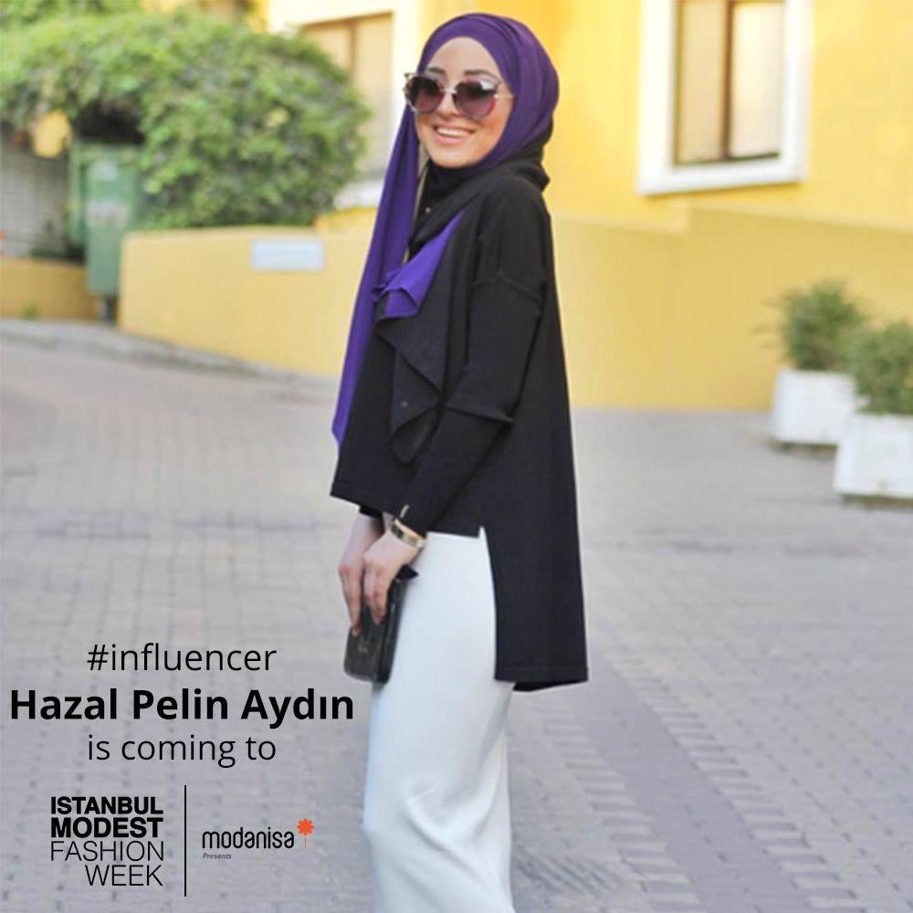 Famous fashion blogger -  Nl Muhafazakar Moda Blogger Hazal Pelin Ayd N 13 14 May S Ta Stanbul Modest Fashion