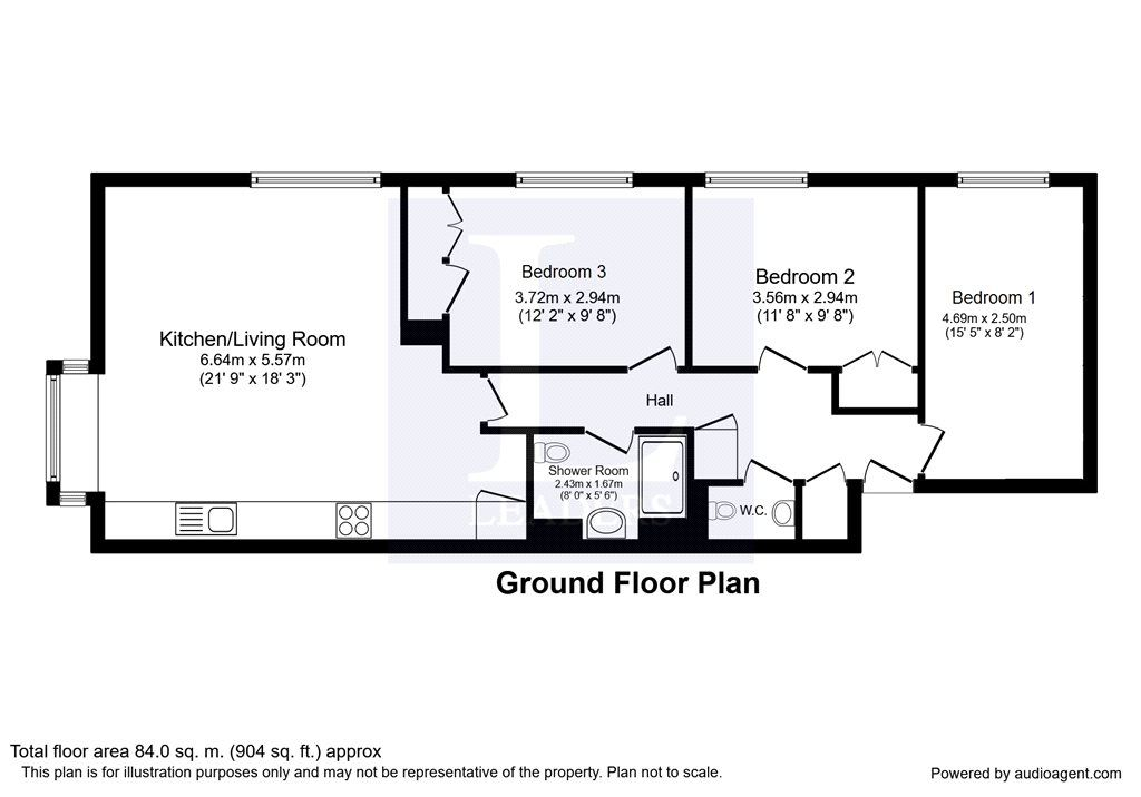 3 Bed Flat For Sale In Maresfield Chepstow Road Croydon Cr0 Zoopla Buying Property Croydon Ground Floor Plan Zoopla house floor plan