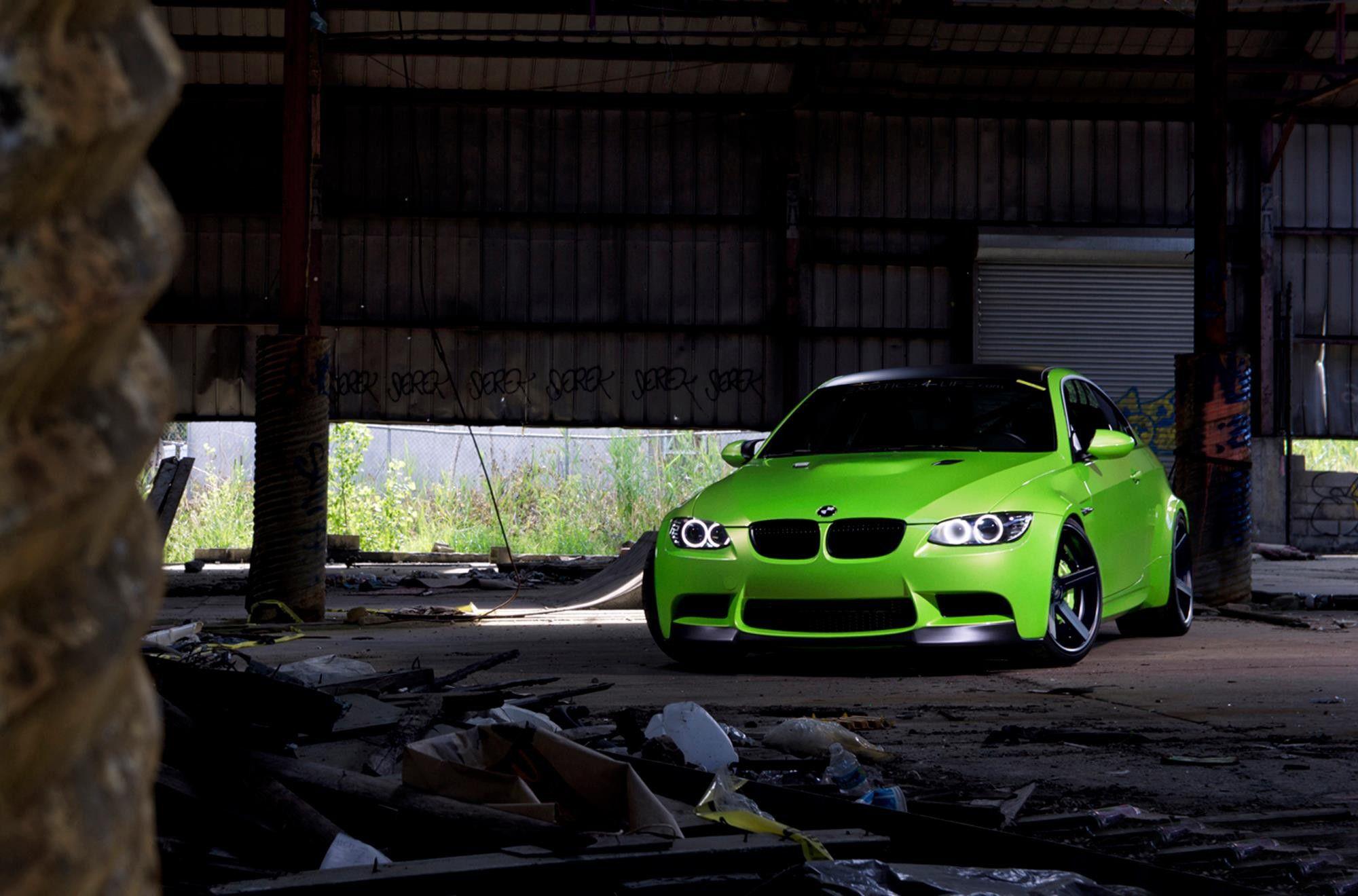 Bmw Bmw Wallpapers Green Bmw