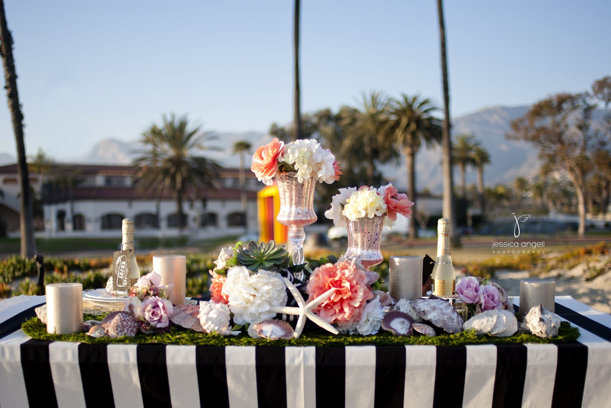 Cabrio Pavillon Santa Barbara Beach Wedding Photography At Cabrillo Pavilion