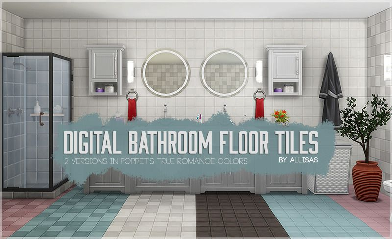 Digital Bathroom Floor Tiles Recolored As Requested Here Are Some Matching Floor Tiles To My Digital Bathr Bathroom Floor Tiles Tile Floor Bathroom Flooring