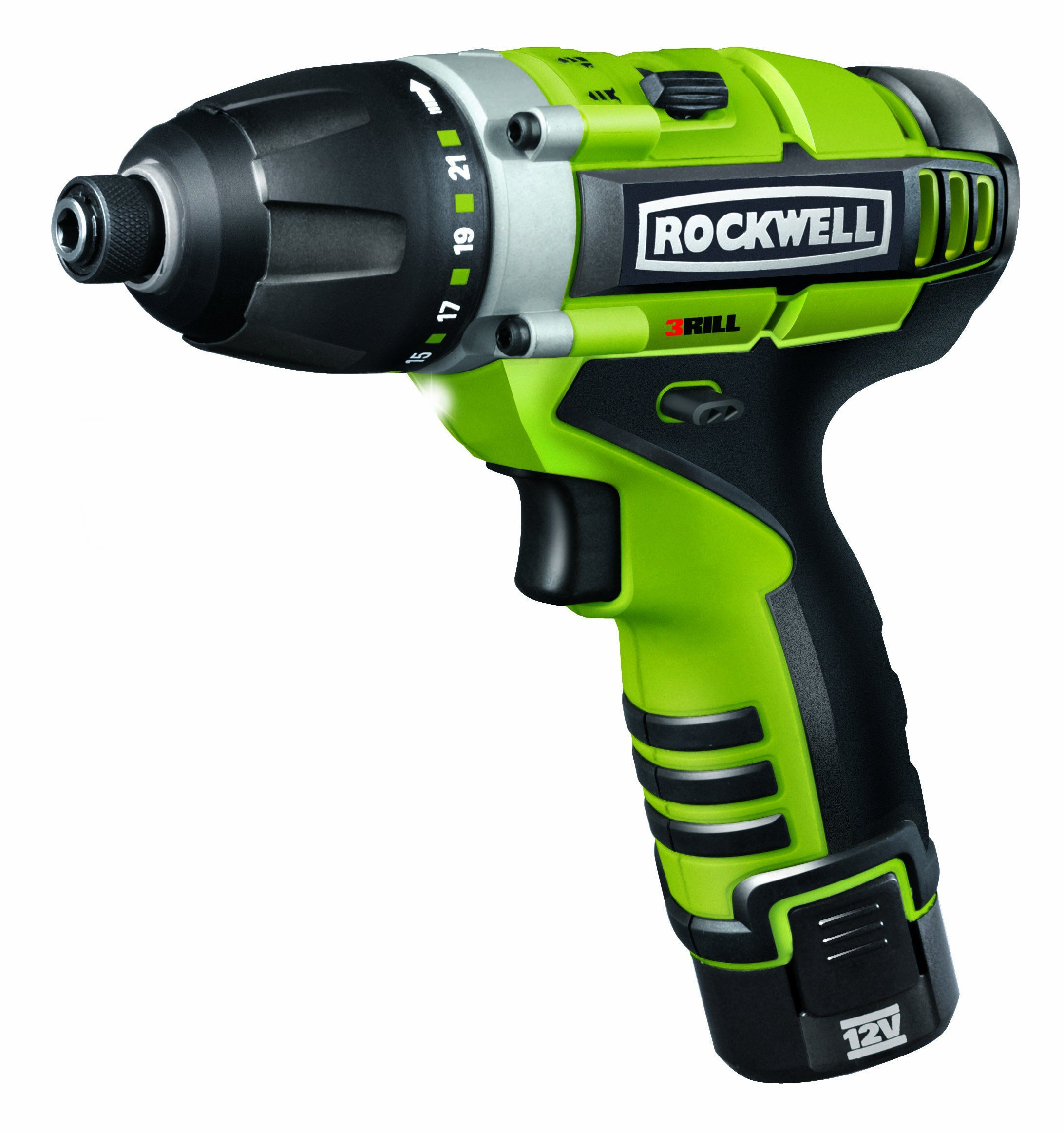 Rockwell Rk2515k2 Lithiumtech 3rill 12 Volt 3 In 1 Impact Driver Cordless Drill Reviews Cordless Power Tools Tools