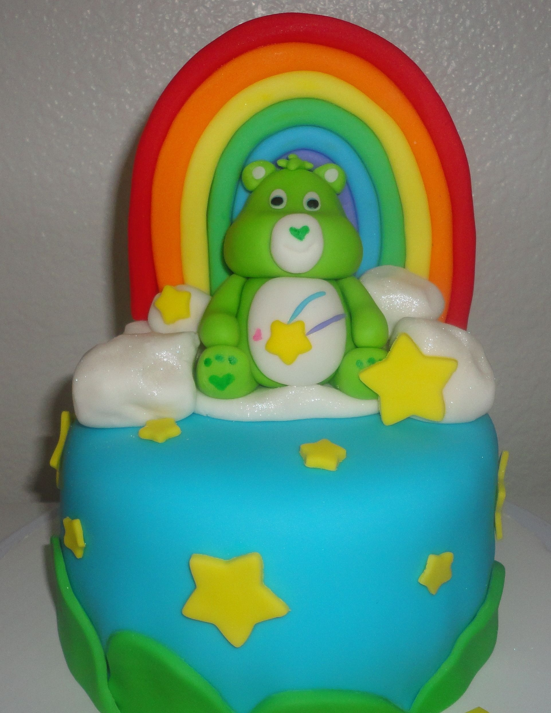 Care Bear Cake Cute But Not Over The Top Celebrate With Cake Care
