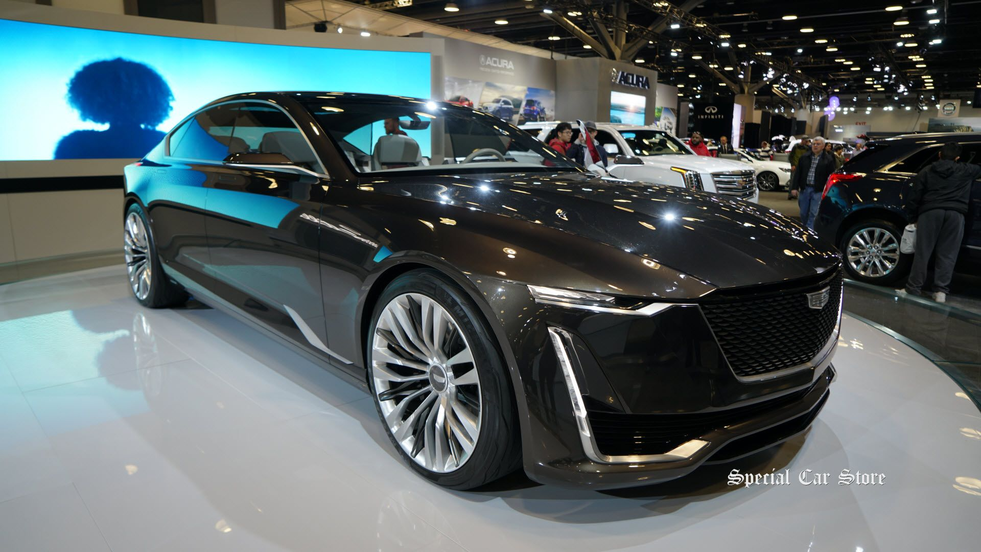 Cadillac Escala Concept At Vancouver International Auto Show - Car show vancouver 2018