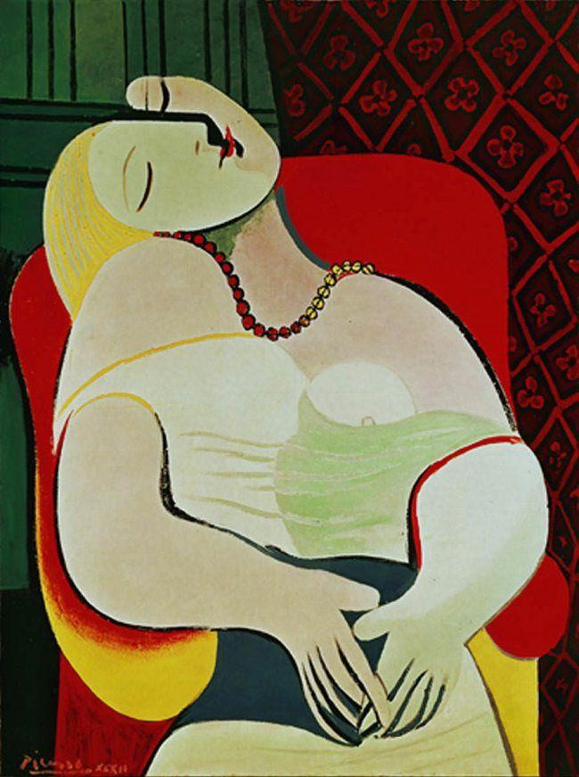 """""""Le Rêve"""" by Pablo Picasso"""