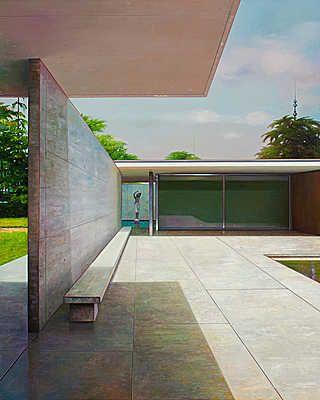 Avantgarde house Lumas, Architektur, Moderne architektur