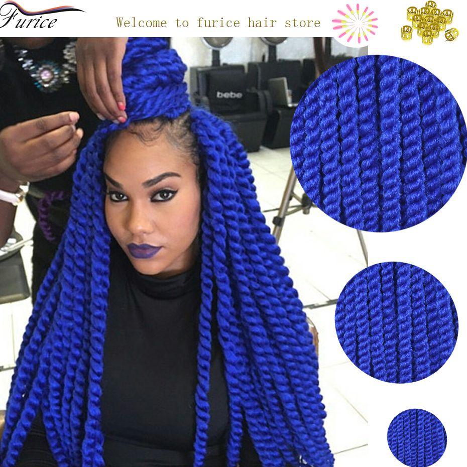 blue braiding hair havana mambo