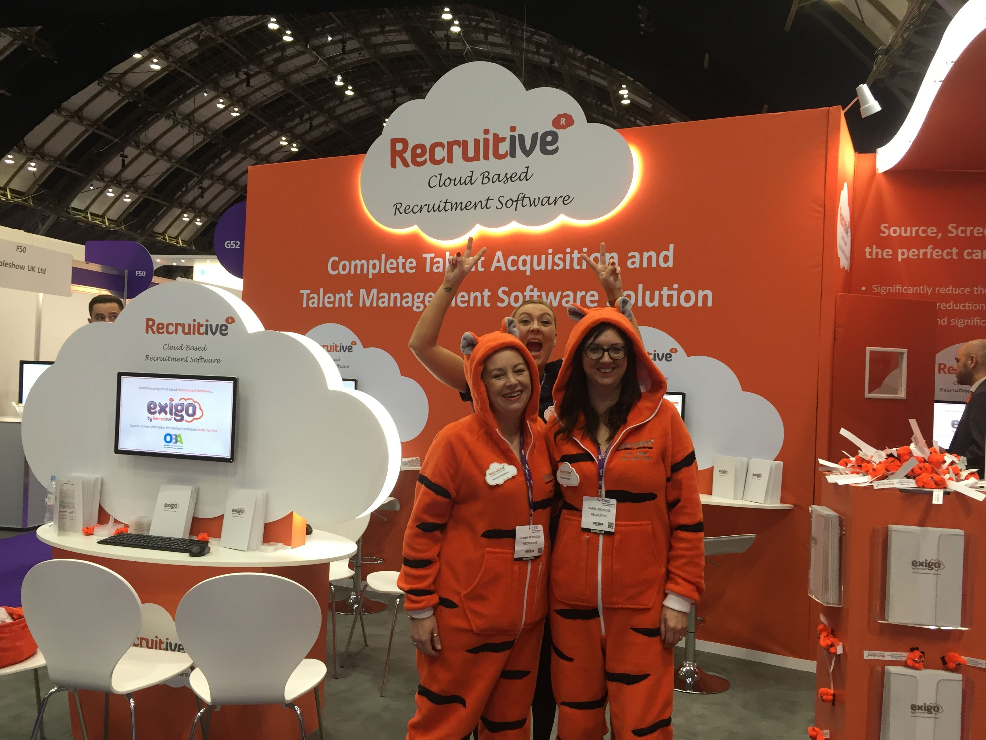 Come And See Our Tigers On Stand G50