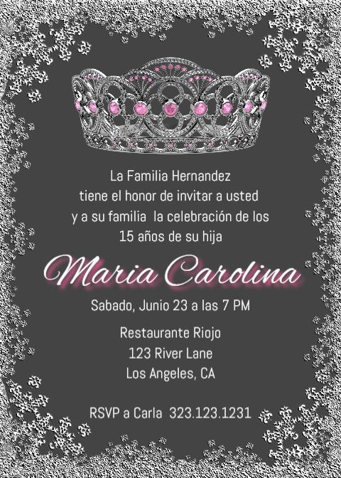 quinceanera invitations quince invitations