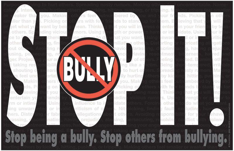 StopIt.jpg (800×518) Bullying prevention, Bullying, Anti