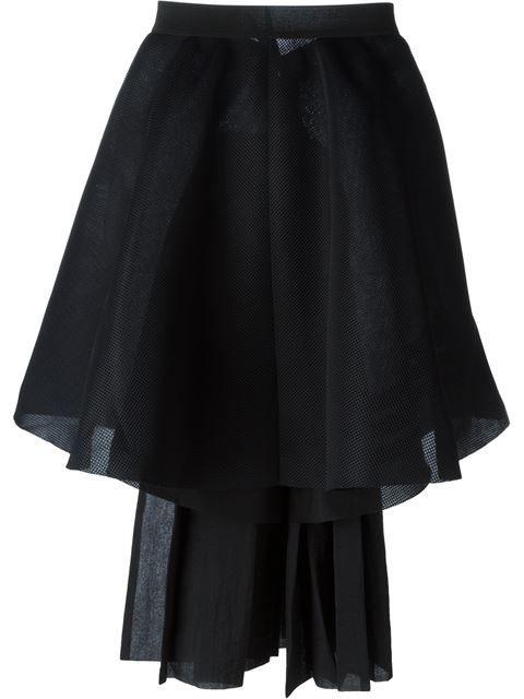Y-3 Asymmetric Full Skirt. #y-3 #cloth #skirt