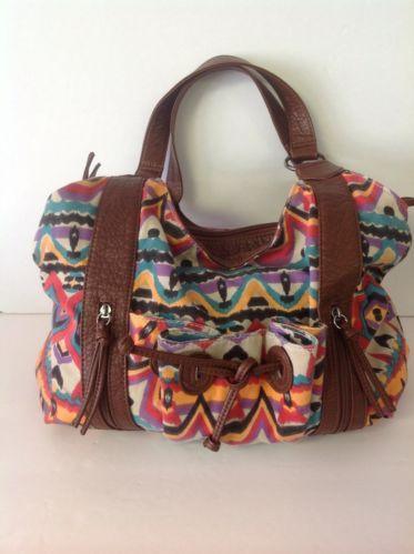 Bueno  Purse Bag Multicolor Multi Pockets Designer Fashion