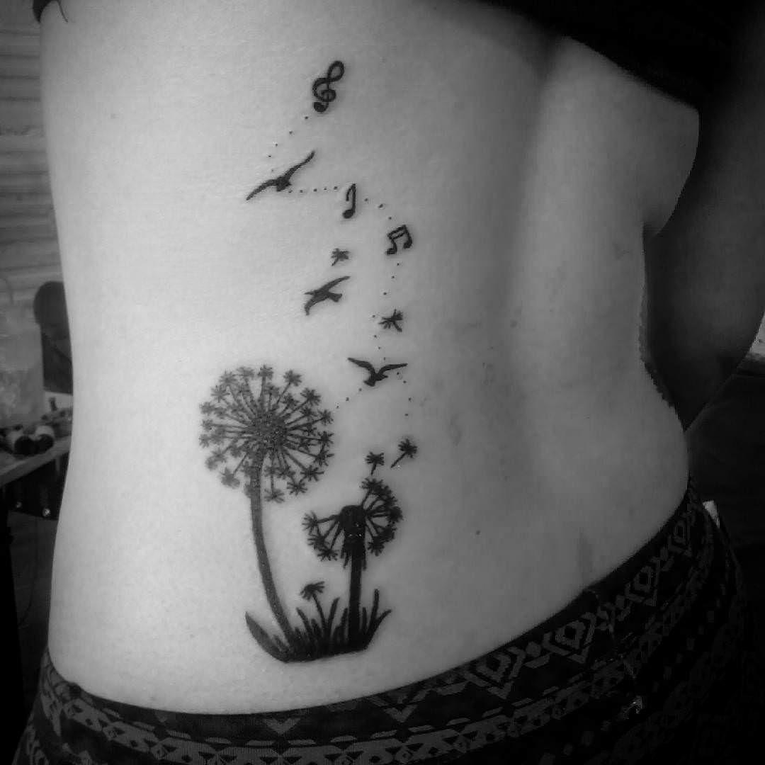 Music Symbols Dandelion Tattoo As Preferidas Pinterest