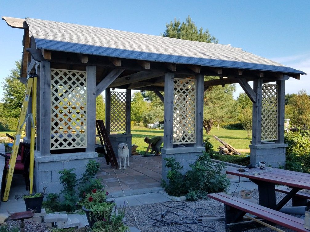 Pin by Mike on Timber Frames Outdoor structures, Gazebo